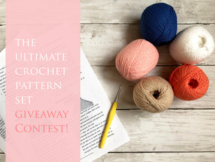 April Promo: The Ultimate Crocheter's Goody Bag (see what's inside) - CONTEST ENDED -