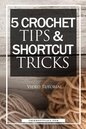 Crochet Tips & Shortcut Tricks Roundup | How to Crochet for Beginners | 📺 Video Tutorial