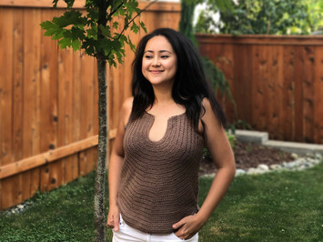 Modern Summer Tank Top   Free Crochet Pattern & 📺 Video Tutorial
