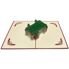 大阪市中央公会堂 3D切り絵カード