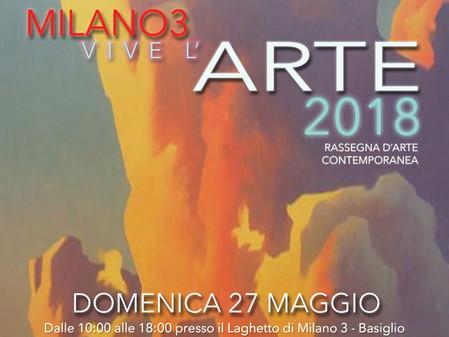 Milano 3 vive l'arte 2018 - XIII Edizione