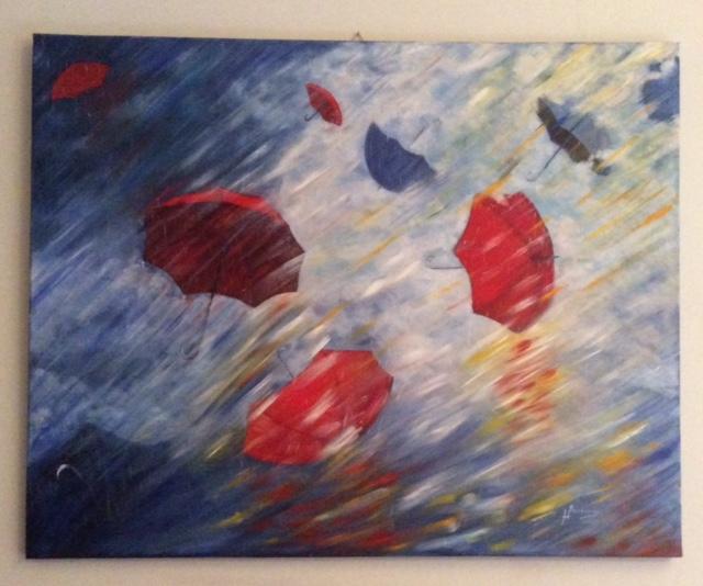 Tra vento e pioggia