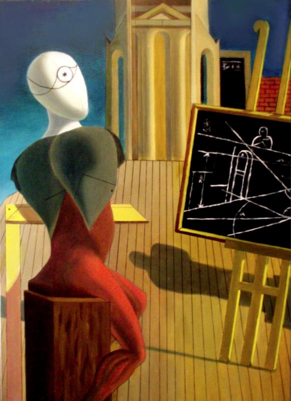 Copia da De Chirico - Il Vaticinatore (2007)