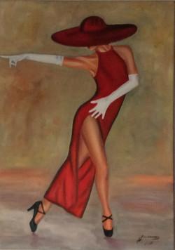 La signora in rosso