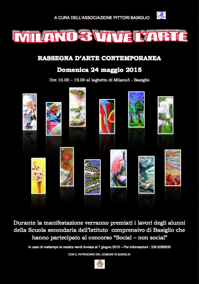 Milano3 vive l'arte 2015