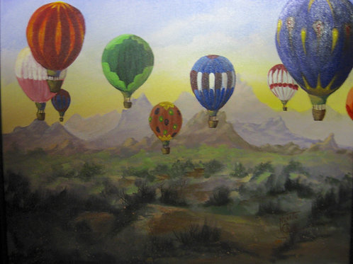 Balloons Over Sedona