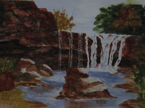 Falls in Zions