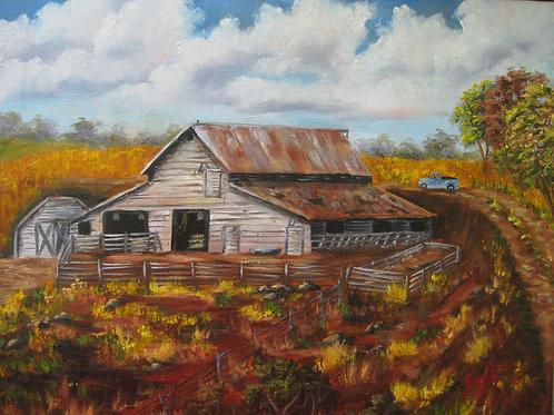 Grandpa Hollist's Barn