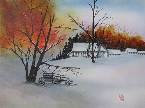 Winter at the Inn
