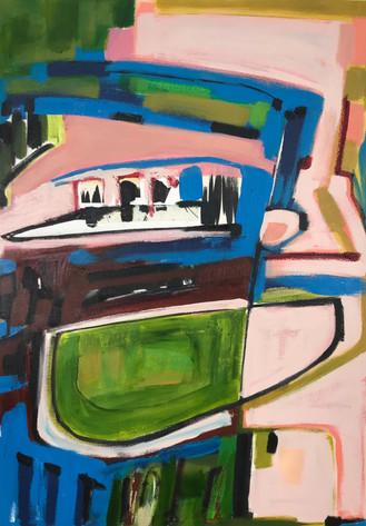 'Sitting at The Riverbank'