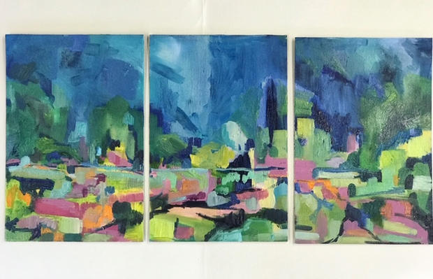 'Mini Heath Triptych'