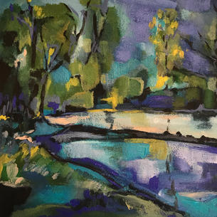 'The Lake at Holywells'