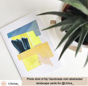 Abstracted Landscape Cards