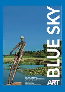 Art for Cure ' BLue Sky 2021