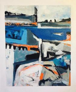 'Fragmented River bank 1'