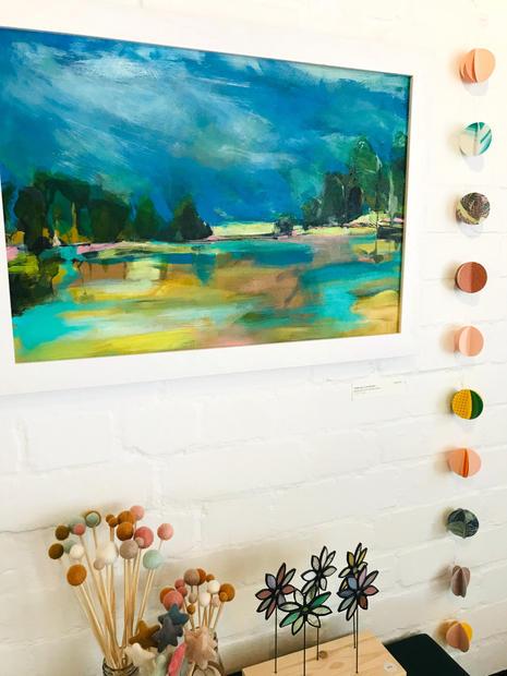 'Reflection Landscape' (sold)