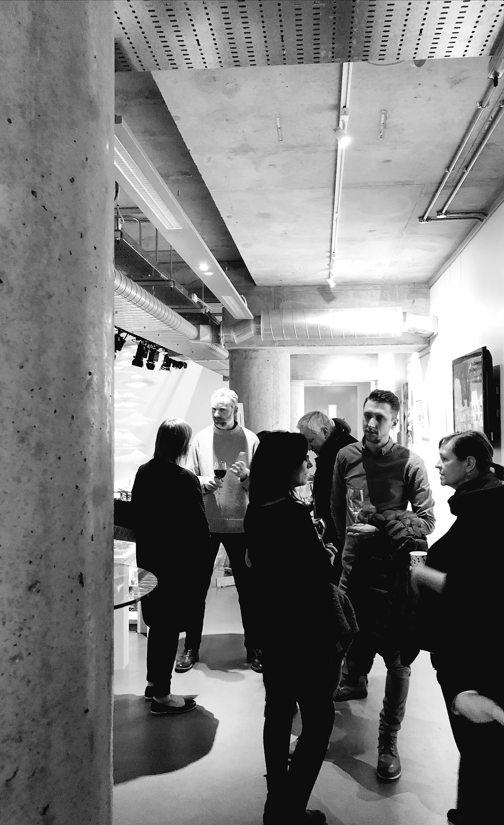 photos from the Private View