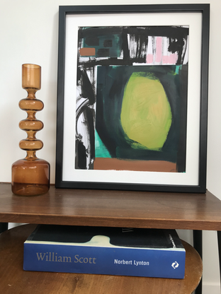 'Abstracted Green circle' in situ