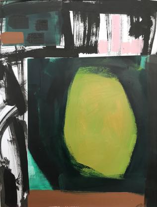 'Abstracted Green Circle'