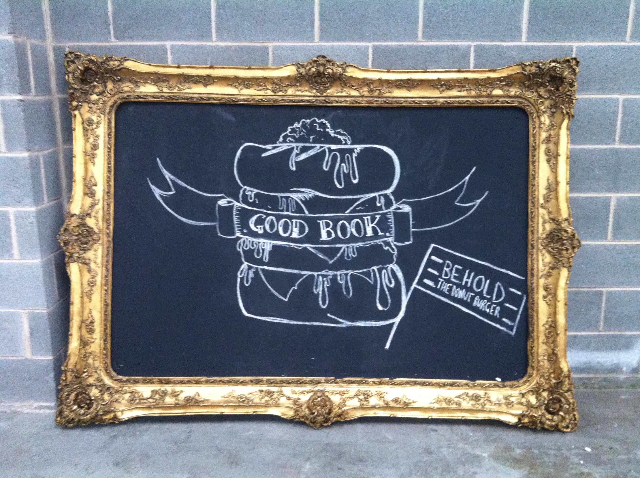 Giant Chalk Board