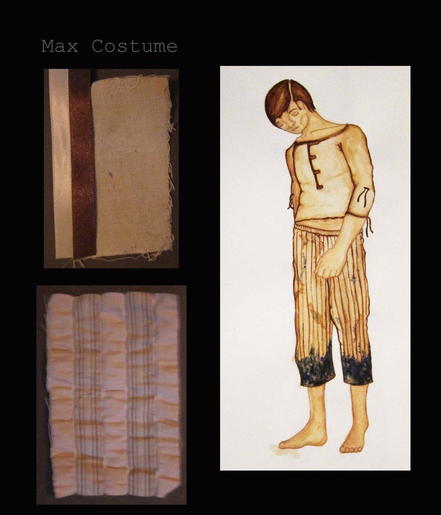 Max Costume Design