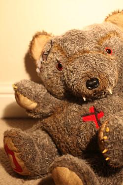 Handmade Evil Teddy Dr Cuddles