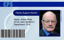 CPS ID Card Graphic