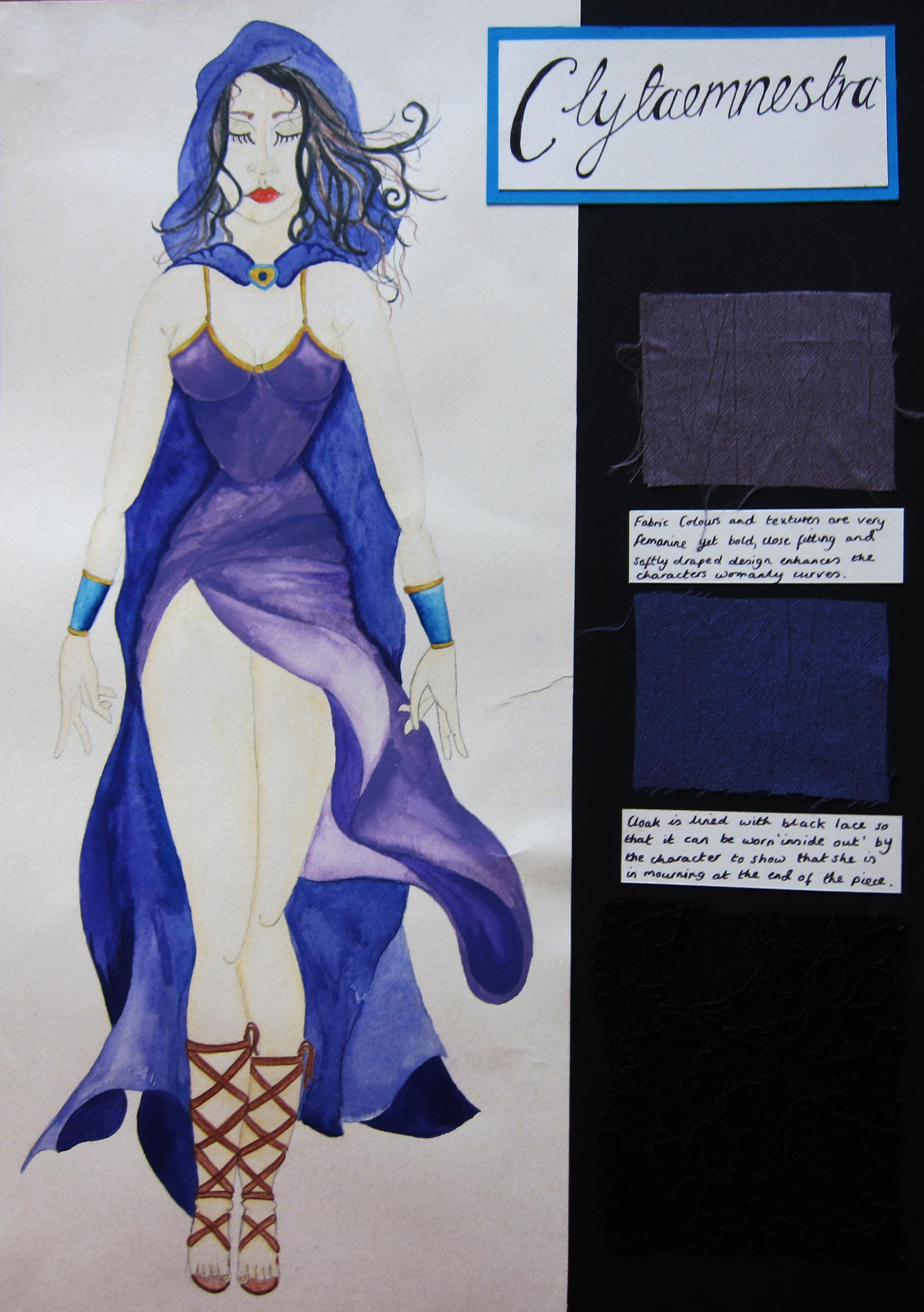 Clytaemnestra Costume Design
