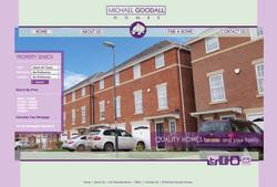 Michael Goodall Homes Web Design