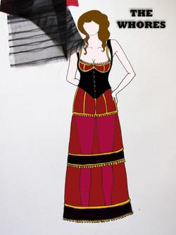 The Whores Costume Design