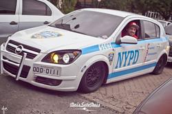 Customização no carro NYPD