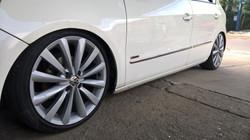 Pintura de rodas em prata