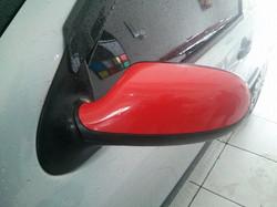 Retrosivor adesivado em vermelho
