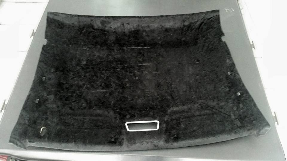 forro montana em tecido preto