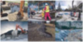 Civil Construction Project Images - Fibre Optics, AFRRCS, Telecommunications