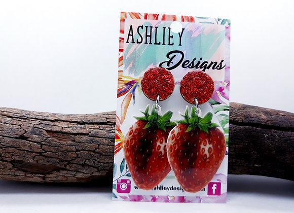 Strawberry Dangles