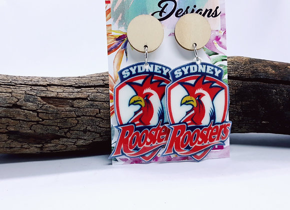 Large Roosters Dangles