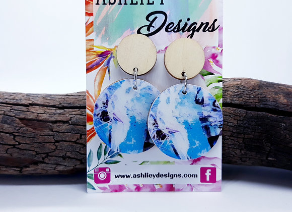 Blue/white Dangles