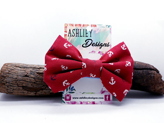 Red Anchor Bow