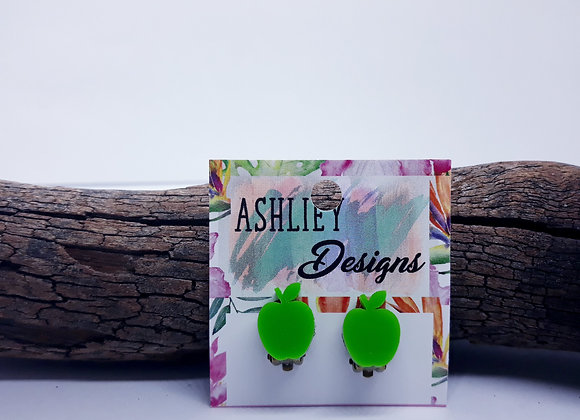 Green Apple Clip-On's