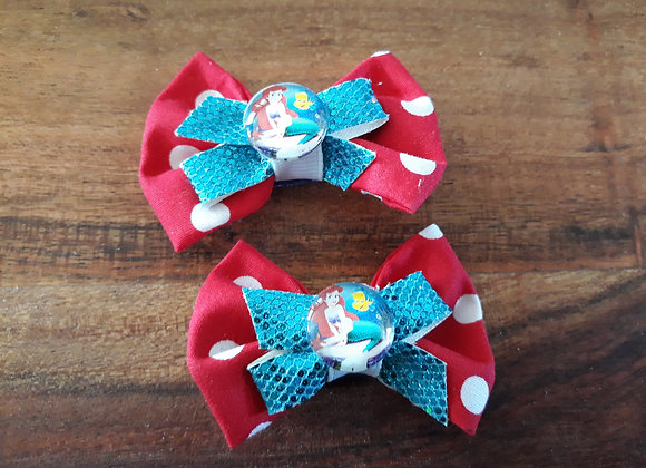 Little Mermaid Bows