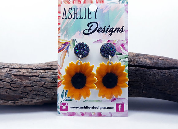 Small Sunflower Dangles