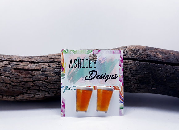 Glass Of Beer Studs