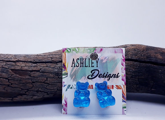 Blue Gummy Bear Clipons