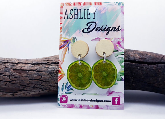 Lime Slice Dangles