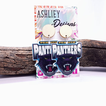 Large Panthers Dangles