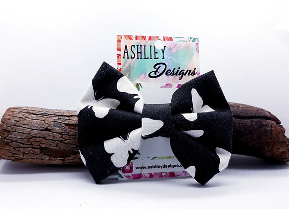 White Butterfly Bow