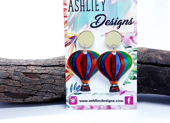 Hot Air Balloon Dangles