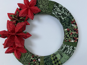 Holiday Stars Wreath - Part 1