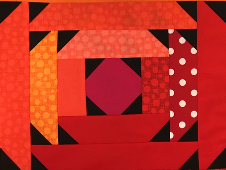 Spring Ahead Quilt - The Block!